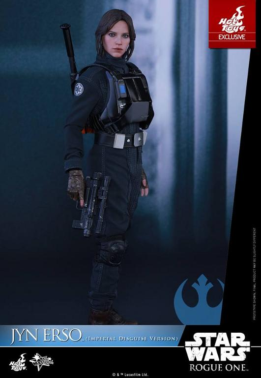 Hot Toys Rogue One 1/6th Jyn Erso Imperial Disguise Version Jyn_im15
