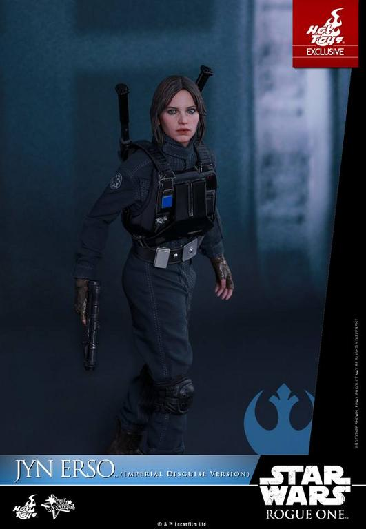 Hot Toys Rogue One 1/6th Jyn Erso Imperial Disguise Version Jyn_im16