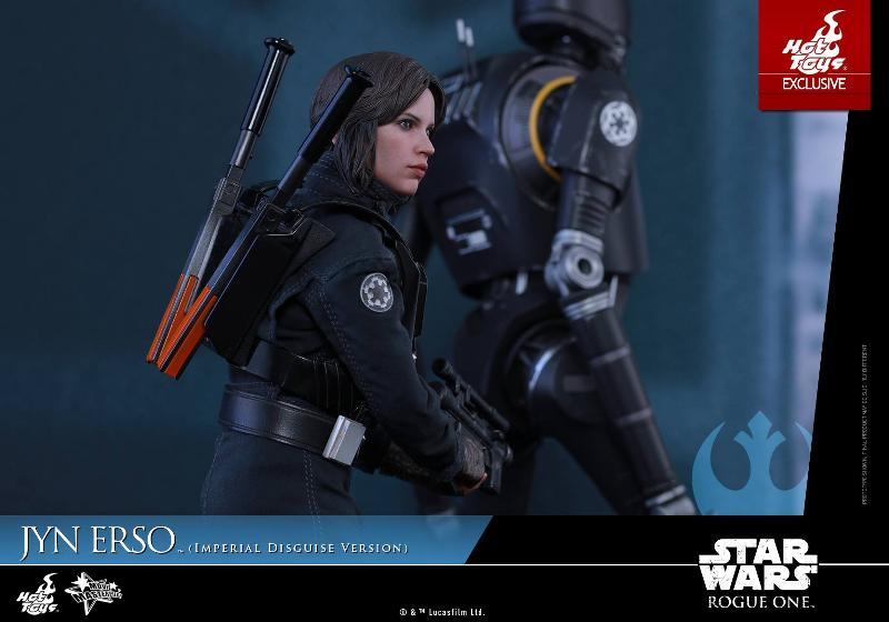 Hot Toys Rogue One 1/6th Jyn Erso Imperial Disguise Version Jyn_im17