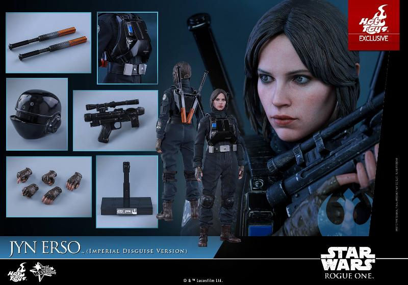 Hot Toys Rogue One 1/6th Jyn Erso Imperial Disguise Version Jyn_im23