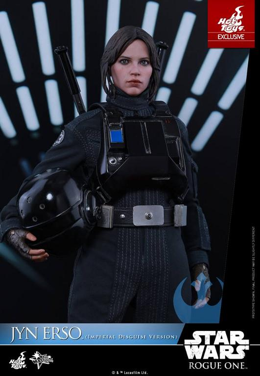 Hot Toys Rogue One 1/6th Jyn Erso Imperial Disguise Version Jyn_im25