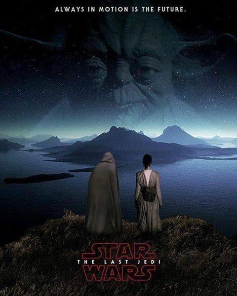 8 - Les posters de Star Wars VIII - The Last Jedi Poster11