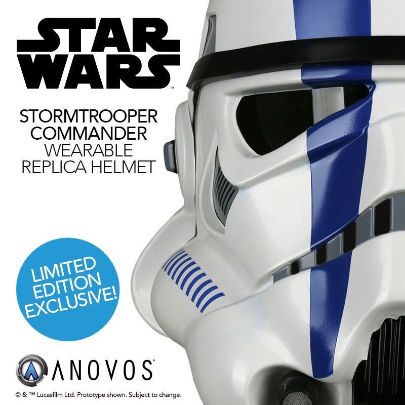 ANOVOS - Star Wars Stormtrooper Commander wearable helmet Storm_10