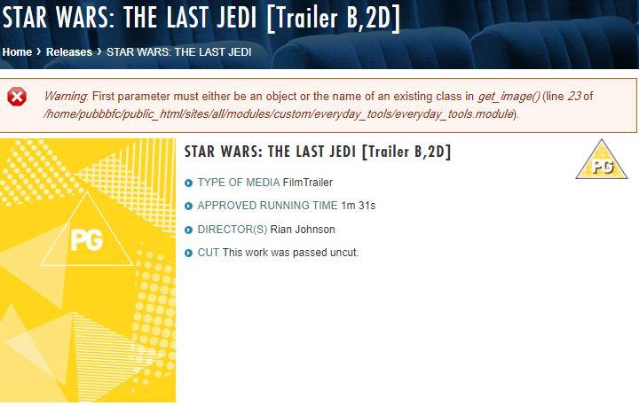 8 - Les RUMEURS de Star Wars VIII - The Last Jedi - Page 7 Traile11