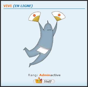 Info: L'Adminactive ZEN change de pseudo pour devenir Vivi 11-03-11