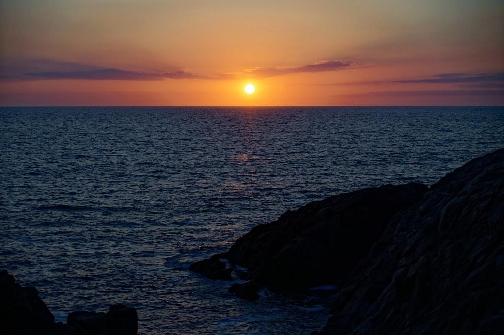 Couché de soleil sur la Côte Sauvage ! Dsc_0229