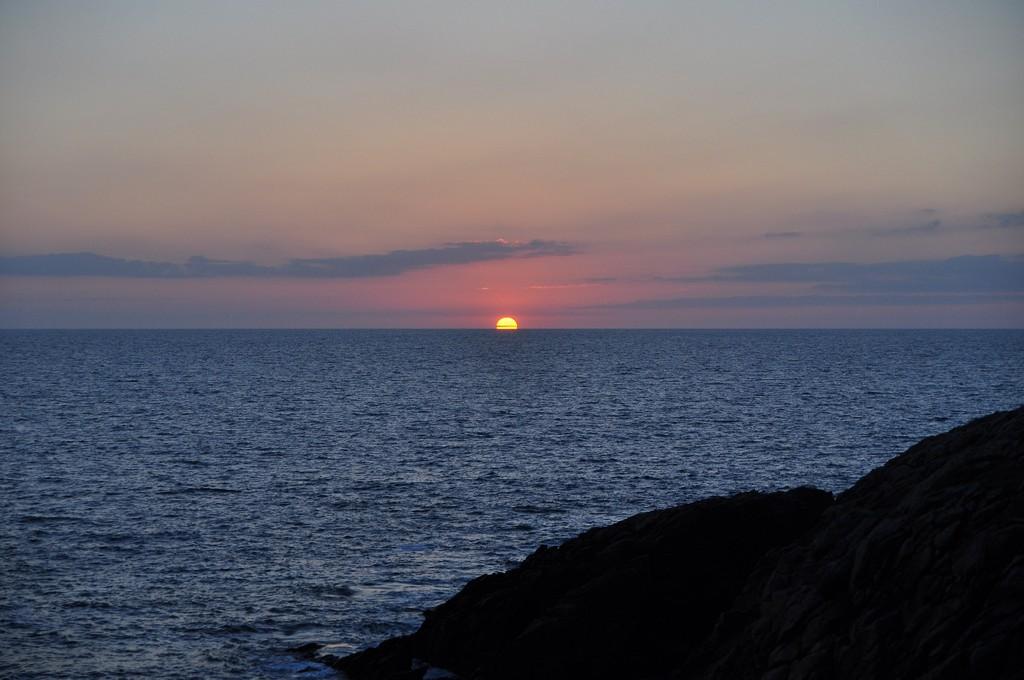 Couché de soleil sur la Côte Sauvage ! Dsc_0230