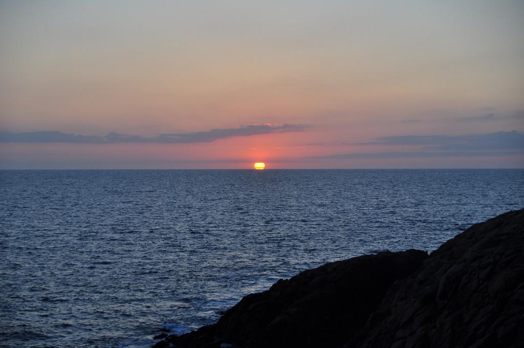Couché de soleil sur la Côte Sauvage ! Dsc_0231