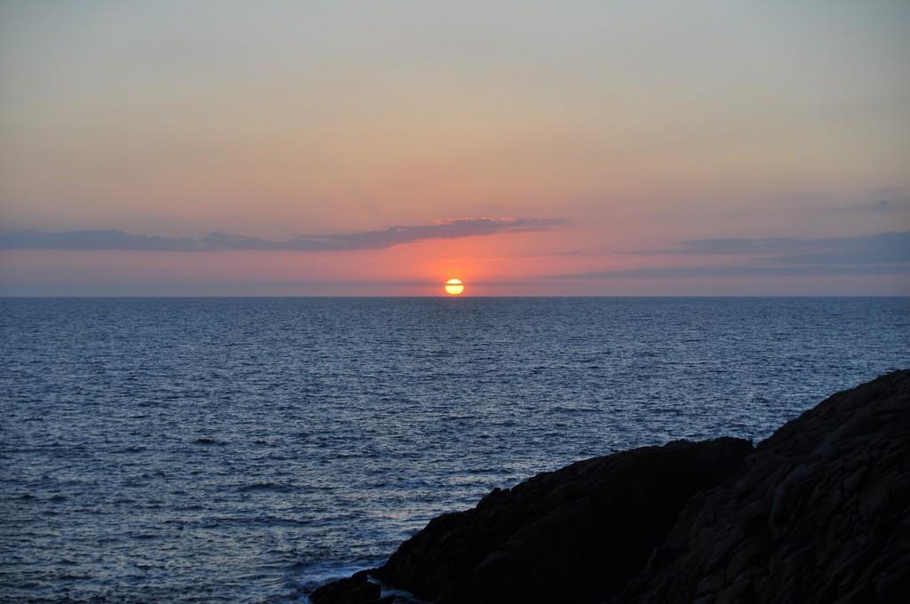 Couché de soleil sur la Côte Sauvage ! Dsc_0232