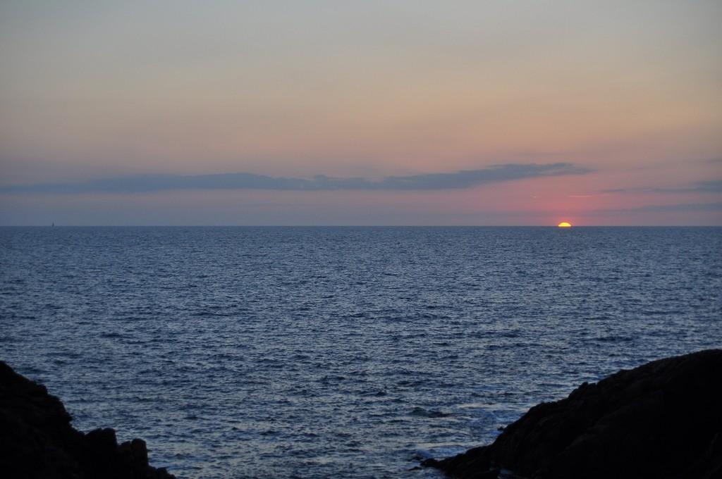 Couché de soleil sur la Côte Sauvage ! Dsc_0233