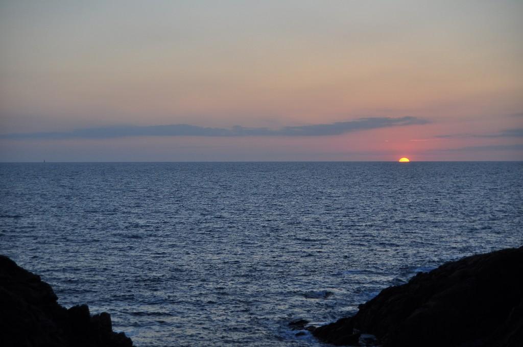 Couché de soleil sur la Côte Sauvage ! Dsc_0234