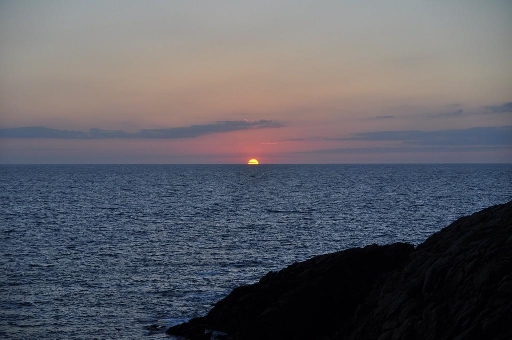 Couché de soleil sur la Côte Sauvage ! Dsc_0235