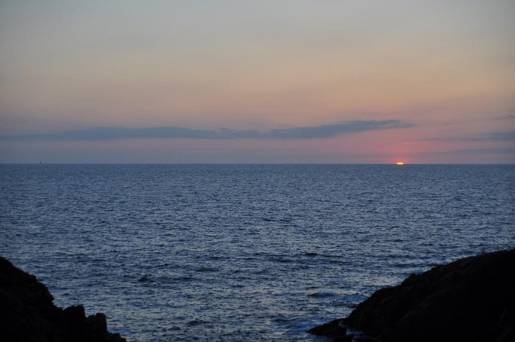 Couché de soleil sur la Côte Sauvage ! Dsc_0236