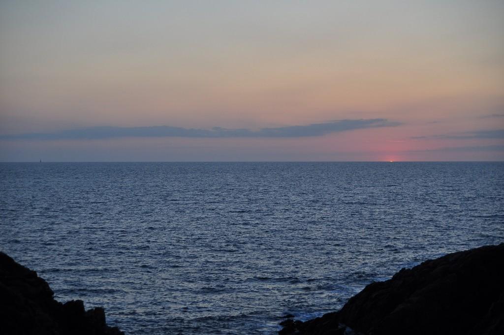 Couché de soleil sur la Côte Sauvage ! Dsc_0237