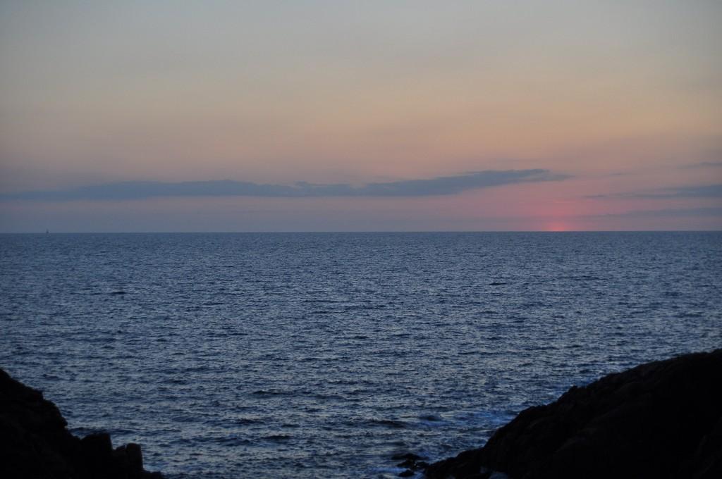 Couché de soleil sur la Côte Sauvage ! Dsc_0239