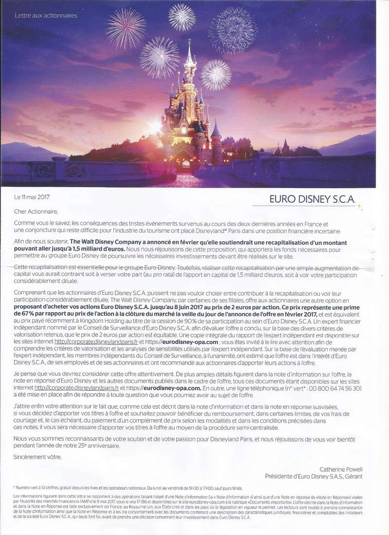 Club Actionnaires Euro Disney SCA (1989-2027?) - Page 6 Lettre10