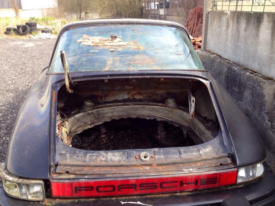 Photos de Porsche à restaurer 17309610
