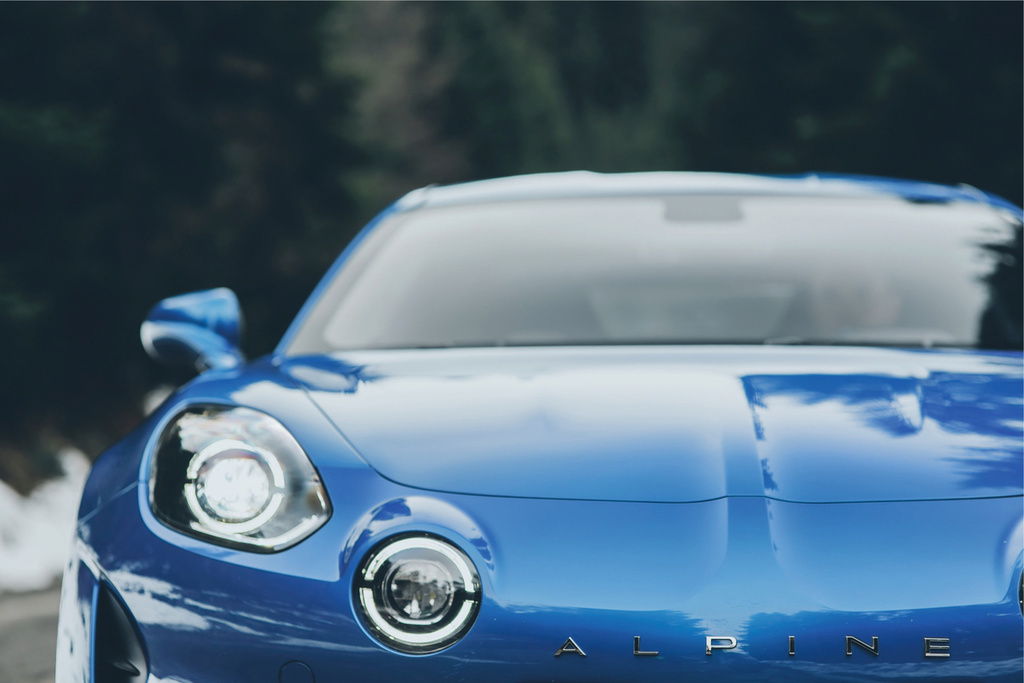 Alpine A110 new age Dledmv14