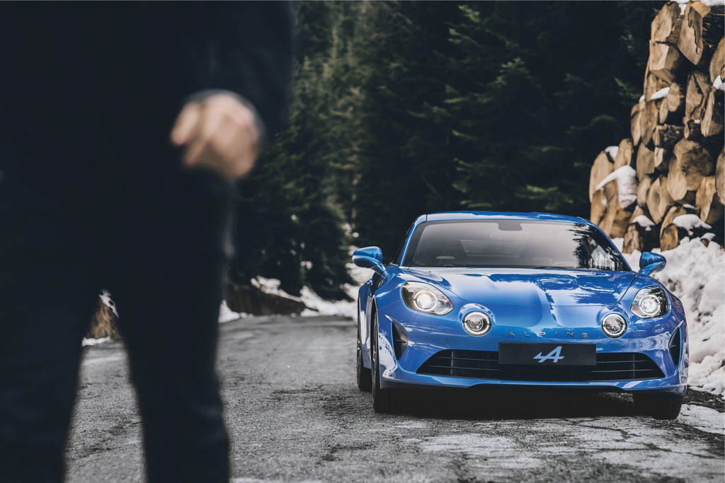 Alpine A110 new age Dledmv15