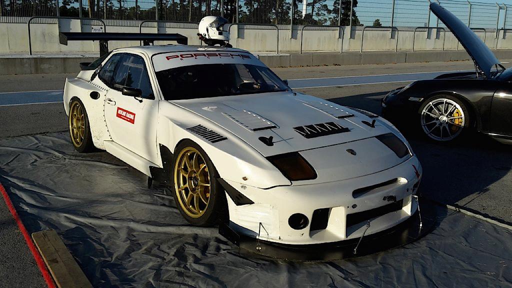 Porsche 968 Time Attack… Goldorak, Goooo ! Dledmv79