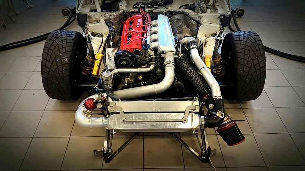 Porsche 968 Time Attack… Goldorak, Goooo ! Dledmv83