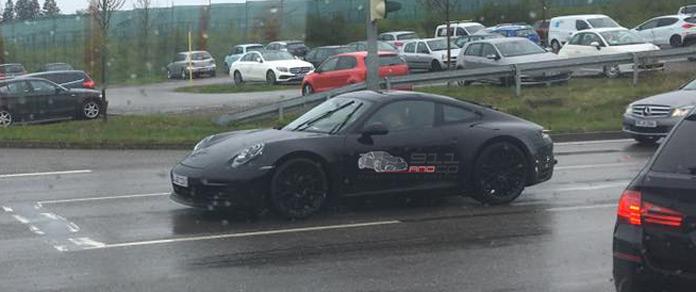 La future Porsche 911 Type « 992 Future10