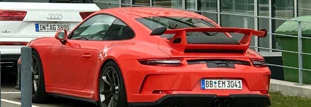 La nouvelle Porsche 911 GT3 surprise avant le Salon . Porsch11