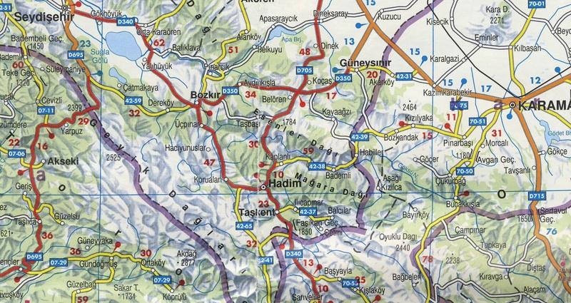 Turquie mai 2017, Monts Taurus, 1: présentation T310