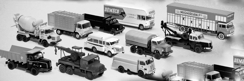 "La collection ""miniatures BERLIET"" d'Hachette au 1/43 16522110"