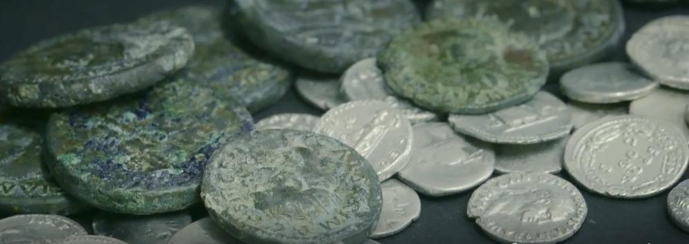 Jeu :identifions des monnaies retrouvées à Pompéi Caius_10