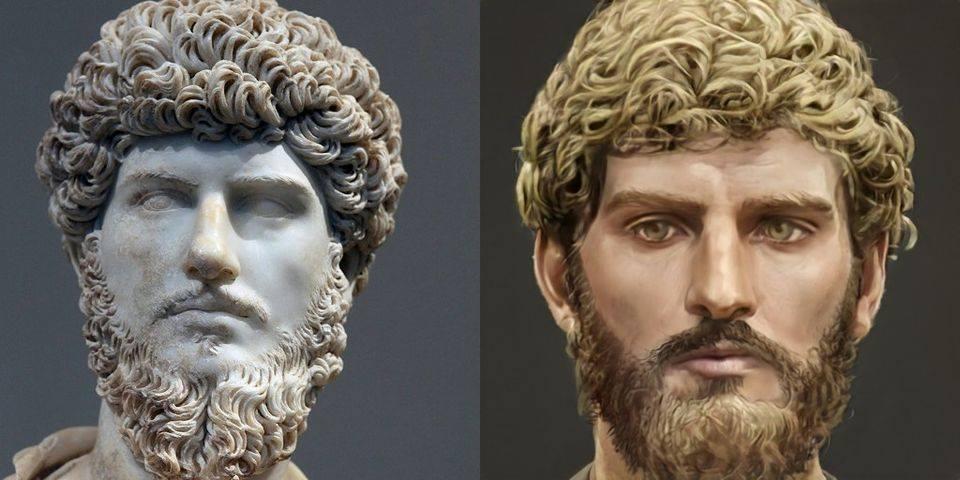 Le vrai visage des empereurs romains (reconstitution) - Page 4 Lucius10