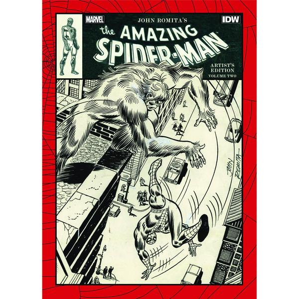 JOHN ROMITA's The Amazing Spider-Man: Artist's edition Idw210