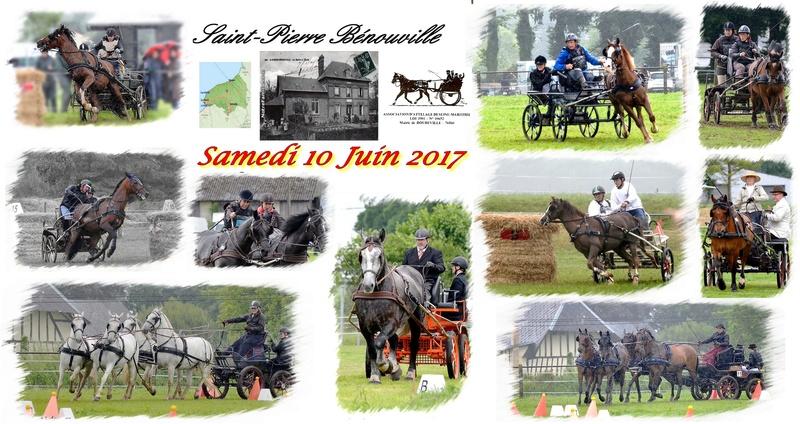 10 Juin 2017 - Saint Pierre Bénouville - CCA Amateur 2 (et lien vers album photos et clip-diaporama) Plaque10