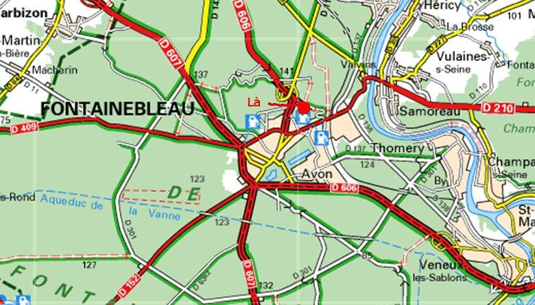 Croix du Calvaire, Fontainebleau La10