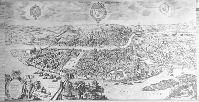 carte de lyon 1659 Lyon1610
