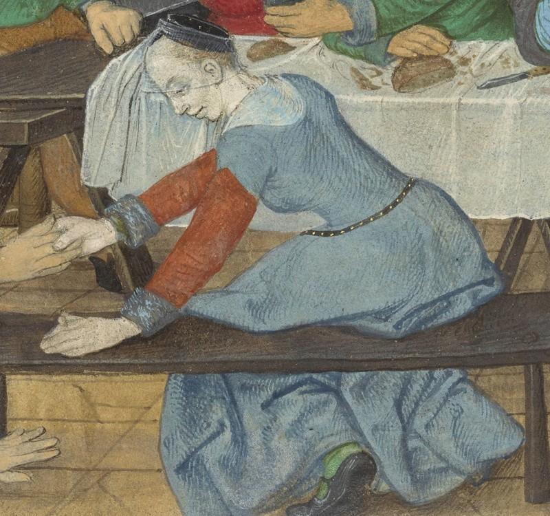 [icono XVe] robes de femmes à manches courtes + manches rapportées Master11