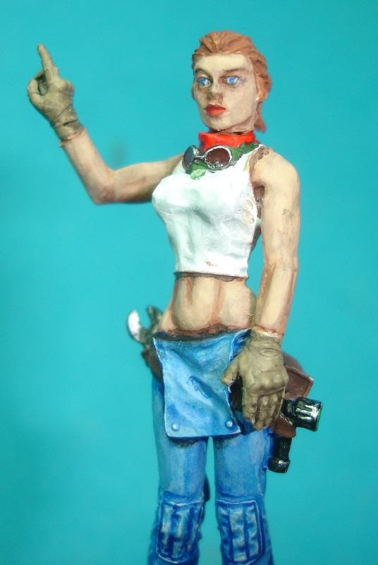 (Denis Simon)figurine science-fiction 2 B111