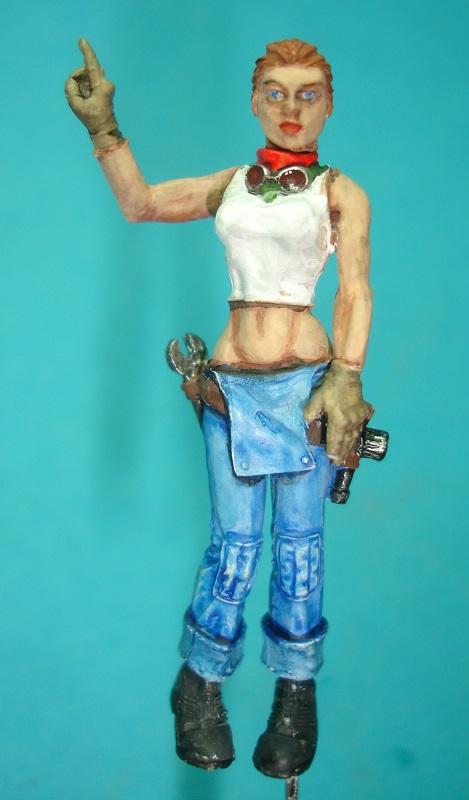 (Denis Simon)figurine science-fiction 2 B210