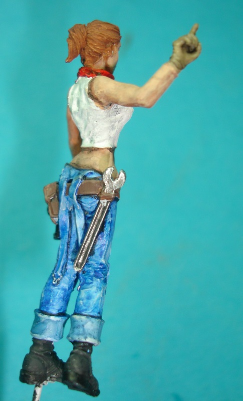 (Denis Simon)figurine science-fiction 2 B411