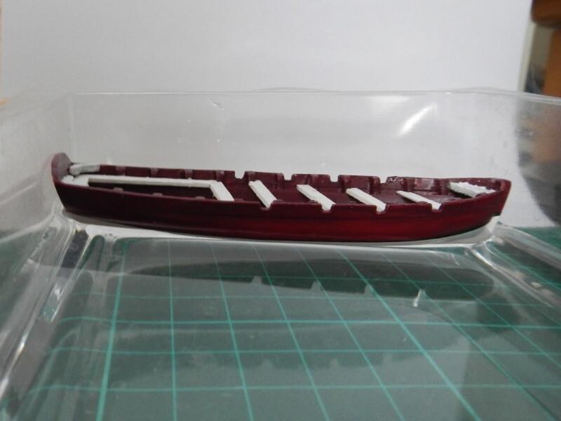 """Construction du """"Sovereign of the Seas"""" au 1/84 par Glénans - Partie I 03110"""