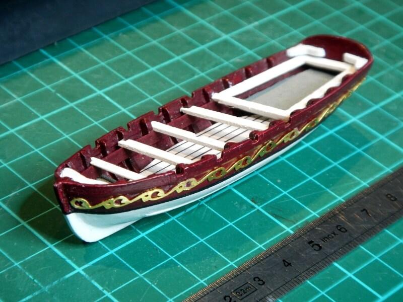 """Construction du """"Sovereign of the Seas"""" au 1/84 par Glénans - Partie I 15110"""