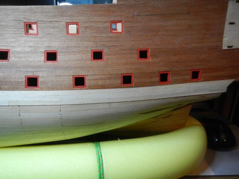 """Construction du """"Sovereign of the Seas"""" au 1/84 par Glénans - Partie I 21410"""