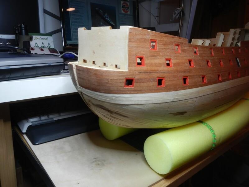 """Construction du """"Sovereign of the Seas"""" au 1/84 par Glénans - Partie I 21610"""