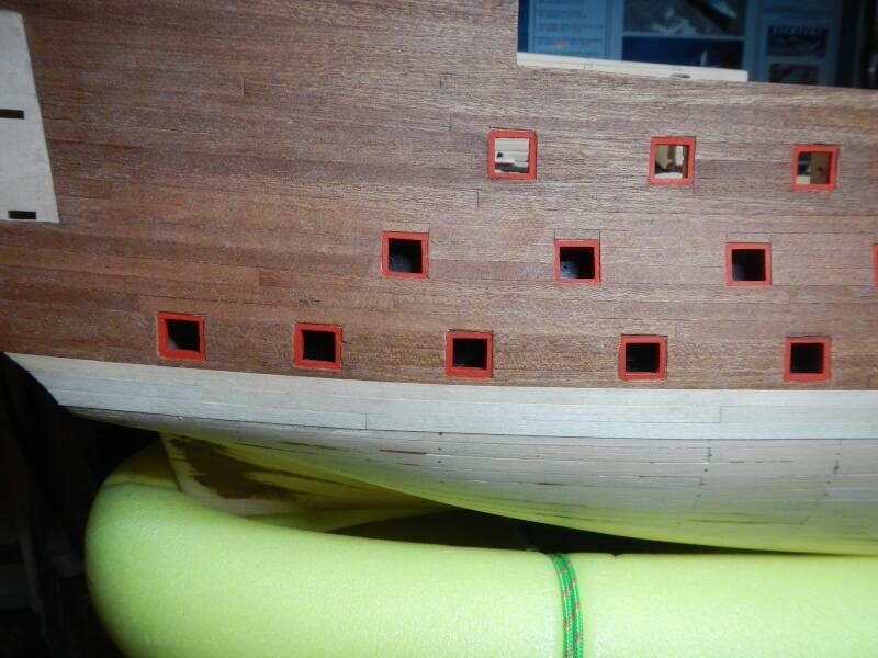 """Construction du """"Sovereign of the Seas"""" au 1/84 par Glénans - Partie I 21810"""