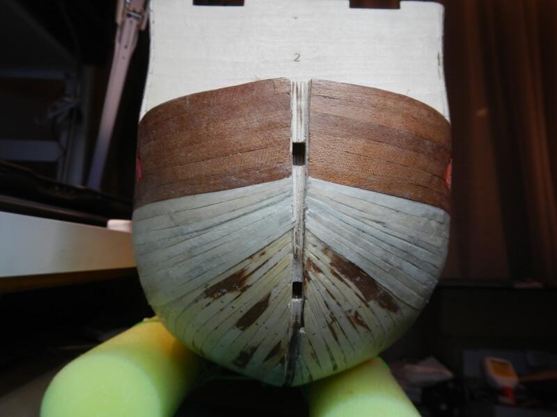 """Construction du """"Sovereign of the Seas"""" au 1/84 par Glénans - Partie I 23610"""