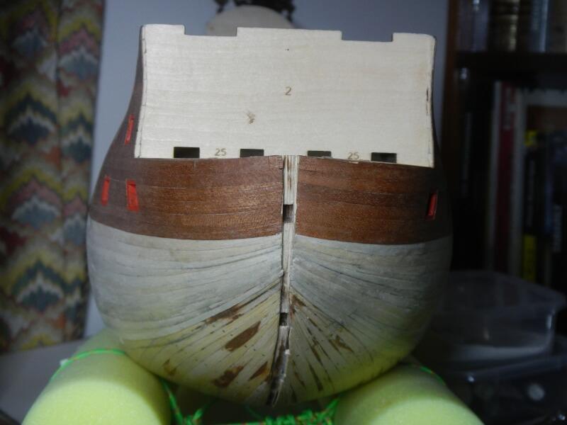 """Construction du """"Sovereign of the Seas"""" au 1/84 par Glénans - Partie I 23710"""