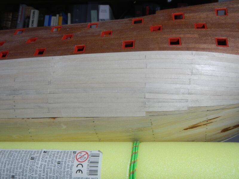"""Construction du """"Sovereign of the Seas"""" au 1/84 par Glénans - Partie I 24010"""