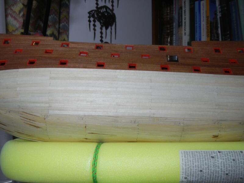 """Construction du """"Sovereign of the Seas"""" au 1/84 par Glénans - Partie I 24210"""