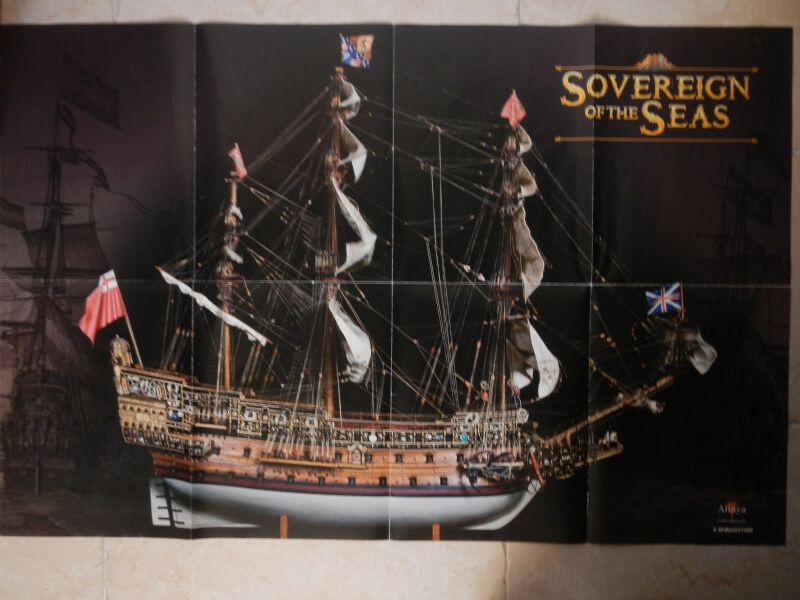 "Construction du ""Sovereign of the Seas"" au 1/84 par Glénans - Partie I - Page 2 40910"