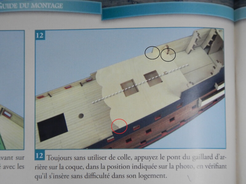 "Construction du ""Sovereign of the Seas"" au 1/84 par Glénans - Partie I - Page 2 41010"